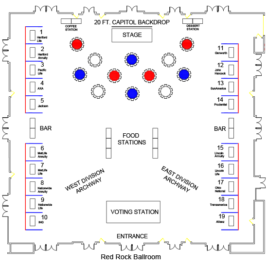 3-in-1 Events - Floor Plan