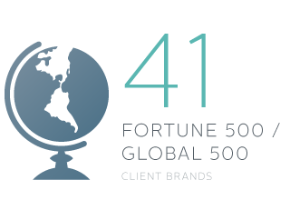 41 Fortune 500 / Global 500 - Client Brands